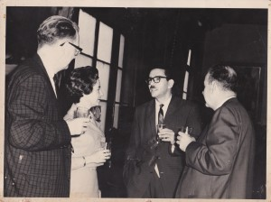 Con George y Barbara Waggoner de Kansas University-1964